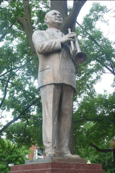 statue WC Handy - photo de Jocelyn Richez