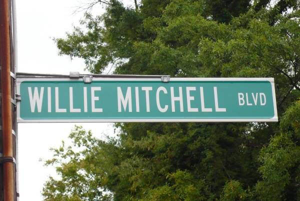 Willie Mitchell boulevard