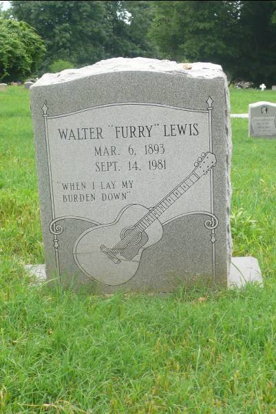 tombe de Furry Lewis