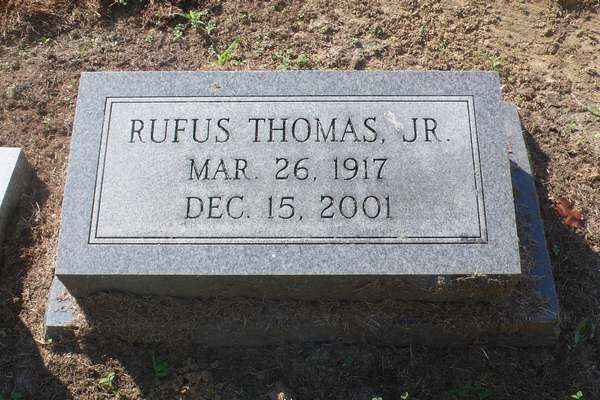 tombe Rufus Thomas