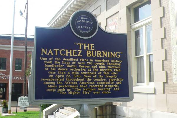 panneau Natchez Burning - photo de Jocelyn Richez