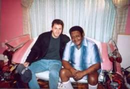 David Naze et Fats Domino