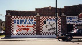 façade du Checkerboard Lounge en 2000 - photo de Jocelyn Richez
