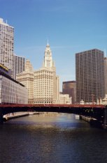 Chicago river - photo de Jocelyn Richez
