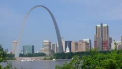 Gateway Arch, St Louis 2009 - photo de Jocelyn Richez