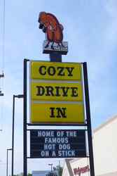 Cozy drive in